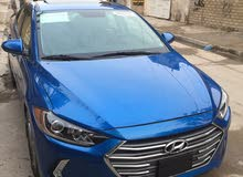 Automatic Blue Hyundai 2017 for sale