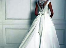 بدلة عروس لبسة وحدة بحالة ممتازة