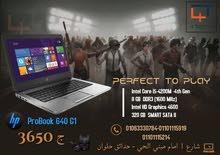 HP Probook 640 لابتوب core i5 الجيل الرابع بأرخص سعر في مصر