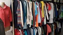 محل ملابس اوروبي كامل مع الده كامله للبيع