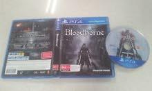 لعبة bloodborn PS4 للبيع او التبديل