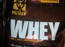 مكمل غذائي Mutant whey protein