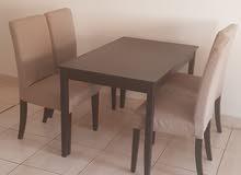 IKEA new table and chair set  ايكيا طاولة وكرسي جديدة للبيع 800ريال