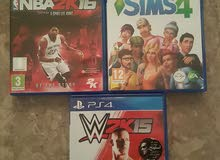 3 CDs for PlayStation4 im good condition, all 3 for 10bd