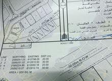 أرض سكنية في ولاية بدبد/القضاعية