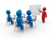 تدريب استخدام الكمبيوتر والانترنت والبرمجيات الجاهزة مثل الورد والاكسل والبرامج من خلال الاكسس