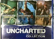 UNCHARTED : The Nathan Drake Collection 1,2,3  + UNCHARTED 4