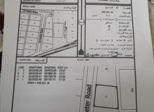 للبيع ارض سكنيه في بركا مزرع الحرث بالقرب من مسجد المصطفى