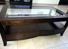 a new coffee table for sale not used