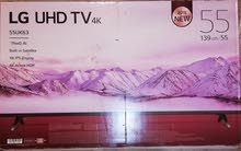 LG 55 INC smart UHD 4K brand new