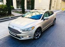 Ford Fusion 2017 For sale - Gold color