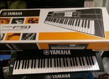بيانو كيبورد كهربائي ياماها F51 جديد اصلي بالكرتونة مكفول ب190دينار فقط