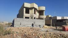 بيت طابقين بناء طابوق