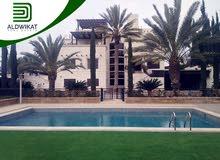 قصر فخم مفروش للبيع في ناعور مساحة البناء 1550 م مساحة الارض 2250 م