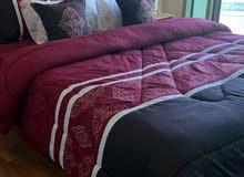 غرفة ماستر مفروشة على كورنيش عجمان