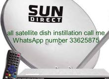 satellite dish WiFi instillation