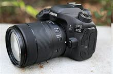 Canon 80d with 18-135mm IS USM lens