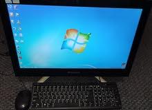 للبيع كمبيوتر لينوفو اصل يجي مع شاشة