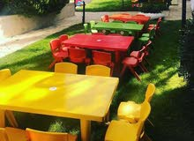 طاولات وكراسي اطفال