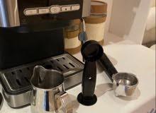 الة قهوه جديده استخدام مره وحده للتجربه فقط للبيع