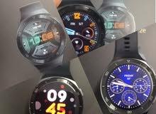ساعة هواوي Gt2e بالكرتون استعمال اسبوعين فقط  37 دينار