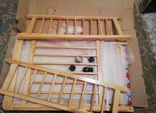سرير اطفال ماليزية جديد للبيع
