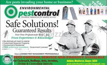 Pest control with guarantee
