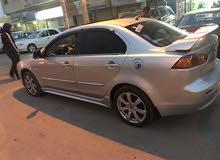 متسوبيشي لانسر GT الأصلي وليس لتعديل  2012