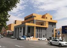 للايجار 7 مكاتب تشطيب راقي بعمارة جديدة بالملز شارع الاربعين (ثلاثة شوارع) مقابل المستشفى الوطنى