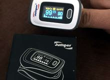 جهاز فحص نبض القلب والاكسجين بالدم وتخطيط القلب pulse oximeter