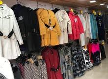 محل ملابس للبيع في عجلون