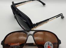 نظارات درجه أولى طبق الأصل مثل الموجودة في المحلات عدة أشكال وماركات تجاريه
