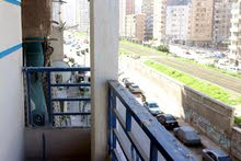 شقة 110 م مرخصة بالتقسيط شارع ملك حفني الرئيسي العصافرة