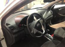 Hyundai Accent 2013 For sale - White color