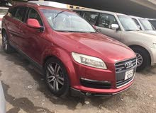 Red Audi Q7 2009 for sale