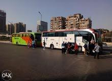 باص مرسيدس 50 راكب للايجار اليومي في مصر