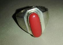 خاتم مرجان هندي اصلي قديم