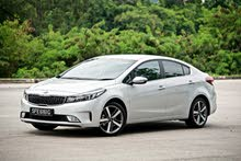 Renting Kia cars, Cerato 2018 for rent in Irbid city