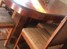 طاولة سفرة مع 8كراسي