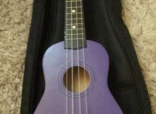 غيتار جديد مع شنطته - New guitar with his bag