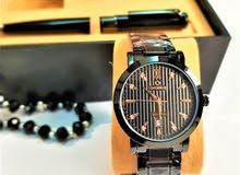 طقم ساعة رجالي رسمية