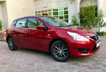 Automatic 2016 Tiida for rent