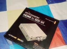 Black Magic Design (HDMI TO SDI, SDI TO HDMI Converter)