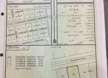 ارض للبيع من المالك رقم القطعه 741 مساحه611
