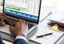 ابحث عن دوام جزئي في جميع الحسابات والقوائم الماليه