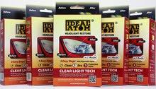 معالج ومنظف وملمع مصابيح وكشافات السيارة من Ideal atom
