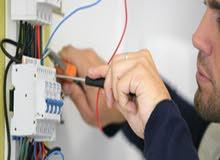 جميع أعمال الكهرباء منازل وصناعية صيانة تركيب تشطيب شبكات مباني وعمارات -  فنيين خبرة 20سنة