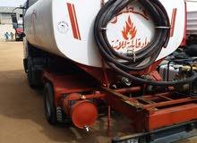 شاحنة توزيع وقود