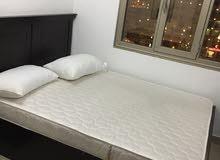 غرفة نوم جديده جدا إستعمال خفيف من ايكيا ومرتبه طبيه أصليه من البغلى البيع لدواعي السفر
