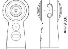 للبيع كاميرا سامسونج جير 360 موديل 2017